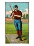 St. Louis, MO, St. Louis Browns, Dan Sullivan, Baseball Card Poster