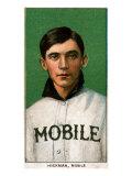 Mobile, AL, Mobile Southern League, Gordon Hickman, Baseball Card Poster by  Lantern Press