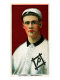 Portsmouth, VA, Portsmouth Virginia League, Tom Guiheen, Baseball Card Poster by  Lantern Press