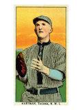 Tacoma, WA, Tacoma Northwestern League, Hartman, Baseball Card Poster by  Lantern Press