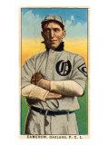 Oakland, CA, Oakland Pacific Coast League, Cameron, Baseball Card Poster by  Lantern Press