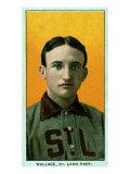 St. Louis, MO, St. Louis Browns, Bobby Wallace, Baseball Card Poster