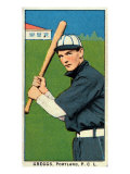 Portland, OR, Portland Pacific Coast League, Greggs, Baseball Card Print by  Lantern Press
