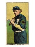 Vancouver, WA, Vancouver Northwestern League, Scharnweber, Baseball Card Print by  Lantern Press