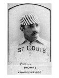 St. Louis, MO, St. Louis Browns, Bill Gleason, Baseball Card Posters