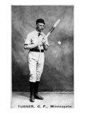 Minneapolis, MN, Minneapolis Minor League, George Turner, Baseball Card Posters by  Lantern Press