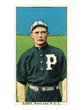 Portland, OR, Portland Pacific Coast League, Casey, Baseball Card Posters by  Lantern Press