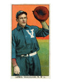 Vancouver, WA, Vancouver Northwestern League, Lewis, Baseball Card Posters by  Lantern Press