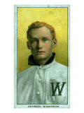 Washington D.C., Washington Nationals, Walter Johnson, Baseball Card Posters by  Lantern Press