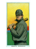 Minneapolis, MN, Minneapolis Minor League, Gavvy Cravath, Baseball Card Posters by  Lantern Press
