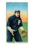 Portland, OR, Portland Pacific Coast League, Armbuster, Baseball Card Posters by  Lantern Press