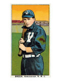 Vancouver, WA, Vancouver Northwestern League, Breen, Baseball Card Posters