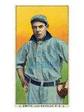 Los Angeles, CA, Los Angeles Pacific Coast League, J. Smith, Baseball Card Posters by  Lantern Press