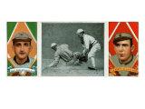 St. Louis, MO, St. Louis Browns, R. J. Wallace, Frank LaPorte, Baseball Card Posters by  Lantern Press
