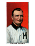 Montgomery, AL, Montgomery Southern League, Ed Greminger, Baseball Card Posters by  Lantern Press