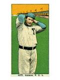 Vernon, CA, Vernon Pacific Coast League, Hitt, Baseball Card Posters by  Lantern Press