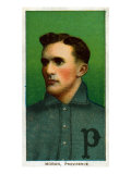 Providence, RI, Providence Minor League, Herbie Moran, Baseball Card Posters by  Lantern Press