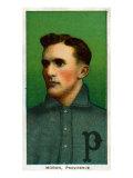 Providence, RI, Providence Minor League, Herbie Moran, Baseball Card Posters