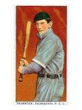 Sacramento, CA, Sacramento Pacific Coast League, Thornton, Baseball Card Posters