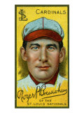 St. Louis, MO, St. Louis Cardinals, Roger Bresnahan, Baseball Card Print by  Lantern Press