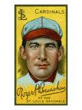 St. Louis, MO, St. Louis Cardinals, Roger Bresnahan, Baseball Card Print