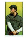 Nashville, TN, Nashville Southern League, Bill Bernhard, Baseball Card Print