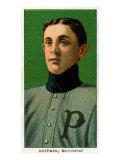 Providence, RI, Providence Minor League, Izzy Hoffman, Baseball Card Print