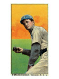 Vernon, CA, Vernon Pacific Coast League, Brackenridge, Baseball Card Print