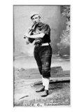 Toledo, OH, Toledo Minor League, Doc Sage, Baseball Card Print