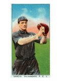 Sacramento, CA, Sacramento Pacific Coast League, Danzig, Baseball Card Print