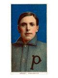 Providence, RI, Providence Minor League, Harry Arndt, Baseball Card Poster