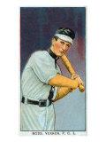 Vernon, CA, Vernon Pacific Coast League, Ross, Baseball Card Poster by  Lantern Press