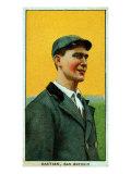 San Antonio, TX, San Antonio Southern League, Jack Bastian, Baseball Card Poster
