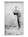 Milwaukee, WI, Milwaukee Minor League, Albert, Baseball Card Poster by  Lantern Press