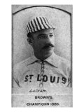 St. Louis, MO, St. Louis Browns, W. Latham, Baseball Card Posters by  Lantern Press