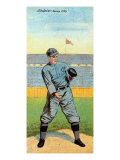 Jersey City, NJ, Jersey City Eastern League, William Abstein, Baseball Card Posters by  Lantern Press