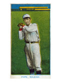 Raleigh, NC, Raleigh Minor League, Pope, Baseball Card Posters
