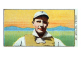Vernon, CA, Vernon Pacific Coast League, W. Hogan, Baseball Card Posters by  Lantern Press