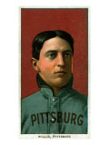 Pittsburgh, PA, Pittsburgh Pirates, Vic Willis, Baseball Card Posters by  Lantern Press