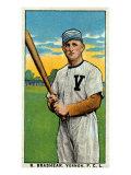 Vernon, CA, Vernon Pacific Coast League, R. Brashear, Baseball Card Posters by  Lantern Press