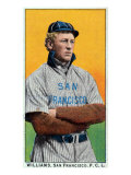 San Francisco, CA, San Francisco Pacific Coast League, Williams, Baseball Card Posters