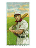 Portland, OR, Portland Northwestern League, Harris, Baseball Card Posters by  Lantern Press