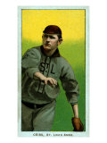 St. Louis, MO, St. Louis Browns, Dode Criss, Baseball Card Posters