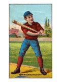 St. Louis, MO, St. Louis Browns, Sam Barkley, Baseball Card Posters