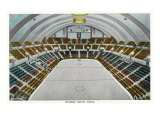 Hershey, Pennsylvania, Interior View of the Hershey Sports Arena Art by  Lantern Press