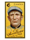 Pittsburgh, PA, Pittsburgh Pirates, Sam Leever, Baseball Card Affiche