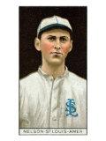 St. Louis, MO, St. Louis Browns, Red Nelson, Baseball Card Print