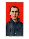 Kansas City, MO, Kansas City Minor League, Jack Beckley, Baseball Card Print
