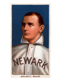 Newark, NJ, Neward Eastern League, Larry Schlafly, Baseball Card Print by  Lantern Press