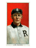 Richmond, VA, Richmond Virginia League, Perry Lipe, Baseball Card Print